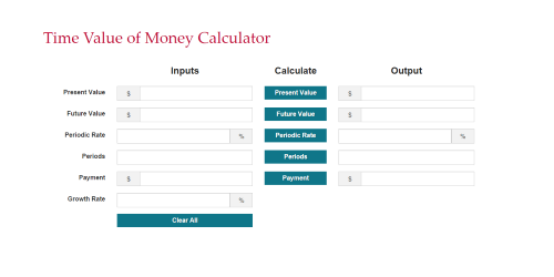 capital budgeting calculator